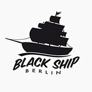 Black Ship Berlin Logoentwicklung createyourtemplate