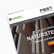 Natursteine Post