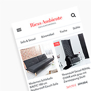 riess-ambiente eBay Shop Trefferliste